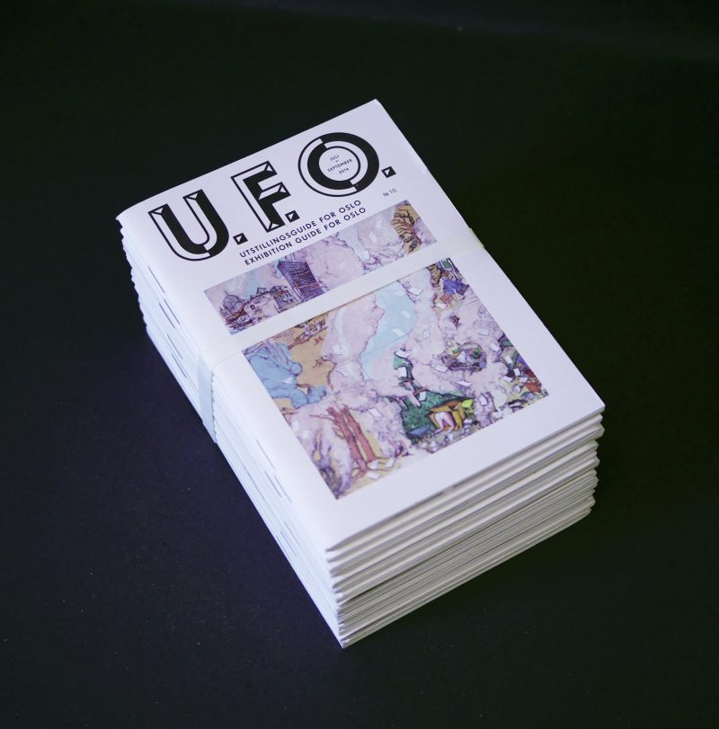 Jhannevold UFO — Exhibition Guide for Oslo